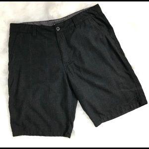 O'Neil black striped men's shorts